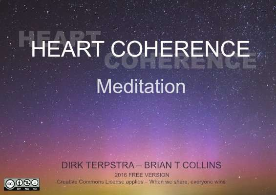 Free heart coherence meditation by Dirk Terpstra & Brian T Collins