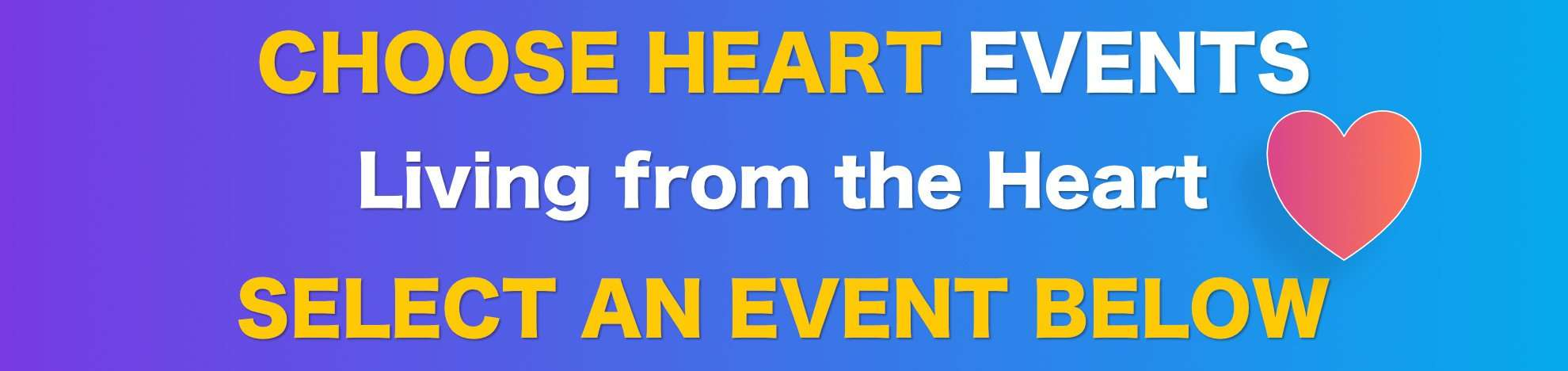 Choose Heart Events | Dirk Terpstra