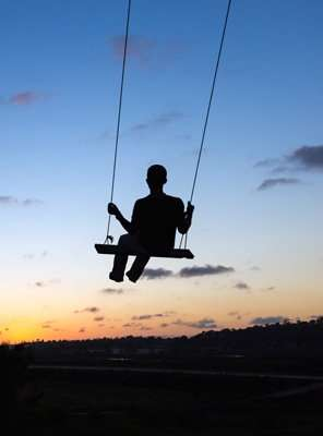 The child in you on the swing | Dirk Terpstra