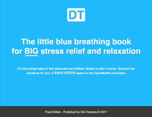 The Little Blue Breathing Book | Dirk Terpstra