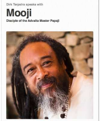 An Interview with Mooji | Dirk Terpstra - Intuitive Speaker
