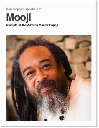 Ebook Interview with Mooji | Dirk Terpstra