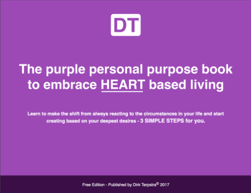 The Purple Personal Purpose Book | Dirk Terpstra